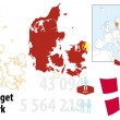 Stock Vector: Denmark