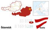 Austria — Stock Vector