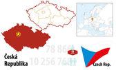 Czech rep. — Stock Vector