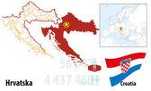 Croatia — Stock Vector