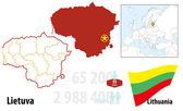 Lithuania — Stock Vector