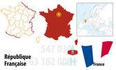 Francja — Wektor stockowy