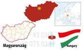 Węgry — Wektor stockowy