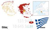 Greece — Stock Vector