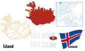 Iceland — Stock Vector