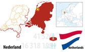 Netherlands — Stock Vector