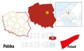 Poland — Stock Vector