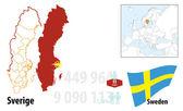 Sweden — Stock Vector