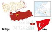 Turkey — Stock Vector