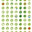 Stock Vector: Map icons set
