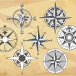Compasses - Stock Vector