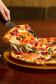 Image of slice of pizza — Stock Photo