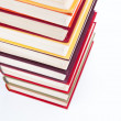 Foto Stock: Stack of books
