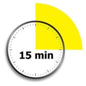 Saat yüzü kronometre — Stok Vektör