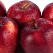 Maroon apples closeup — Stock Photo #41754637