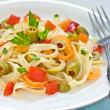Pasta salad — Stock Photo