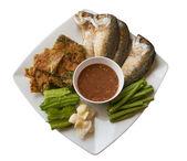 Shrimp paste chilli sauce — Stock Photo