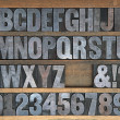 Wooden Alphabet — Stock Photo #16280175