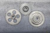 Three Gears — Stock Photo