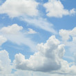 Heavenly clouds - Stock Photo