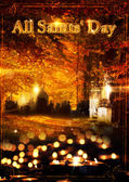 All Saints day — Stock Photo