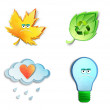 Environmental icons set. — Stock Photo