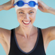 Beautiful Female Swimmer - Foto Stock