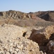 Wadi Shahamon near Eilat — Stock Photo