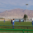 Stock Photo: Female soccer game in Eilat, Israel