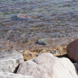 Stock Photo: Sewater and rocks