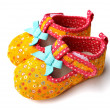 Children's shoes — Stock Photo