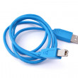 Blue midi cable — Stock Photo
