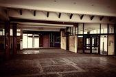 Abandoned restaurant — Stock Photo