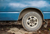 Tyre on an off road vehicle  — Stock Photo