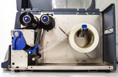 Roll machine for paper — Stock Photo