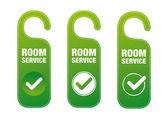 Room Service — Stock Vector