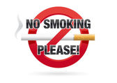No Smoking Please! — Stock Vector