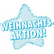 Weihnachts-Aktion! Banner - Stock Vector