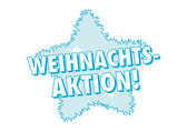 Weihnachts-Aktion! Banner — Stock Vector