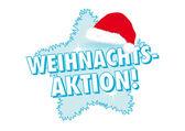Weihnachts-aktion! banner — Stockvector