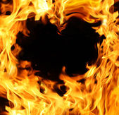 Fier heart — Foto Stock