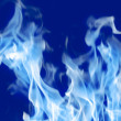 Fire Blue — Stock Photo