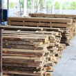 Stock Photo: Wood factory