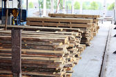 Wood factory — Stock Photo