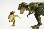 Action figure dinosaur — Stock Photo