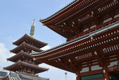Japanese temples in Kyoto, Japan — Stock Photo