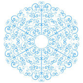 Lacy snowflake — Stock Vector