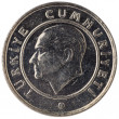 25 Turkish kurus coin, 2011, face — Stock Photo