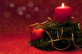 Christmas candles — Fotografia Stock
