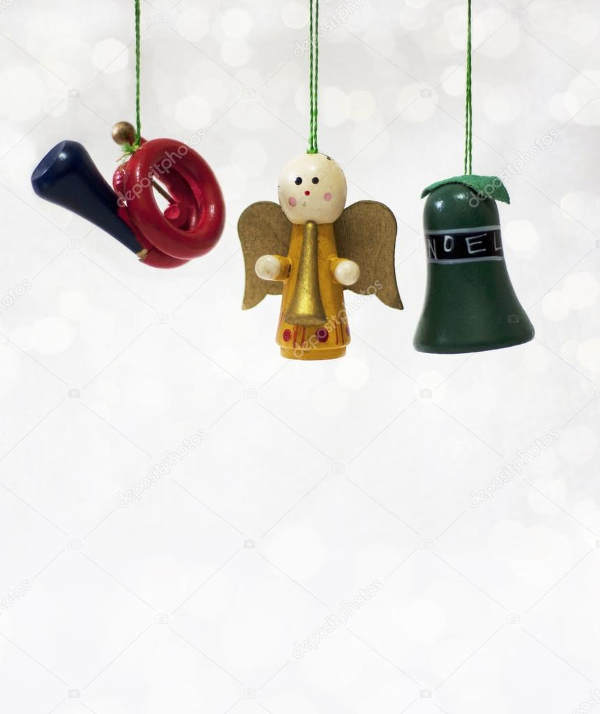 Christmas ornaments white background    #16837539